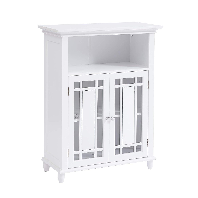 17.64 x W Sauder 414032 Caraway Floor Cabinet L Soft White finish 31.30 11.50 x H