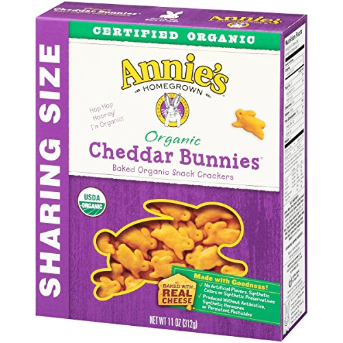 Annie's Homegrown Organic Cheddar Crackers, Bunnies, 11 Ounce by Annie'sHomegrown (Image #3)