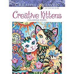Adult Coloring Book Creative Haven Creative Kittens Coloring Book (Creative Haven Coloring Books)