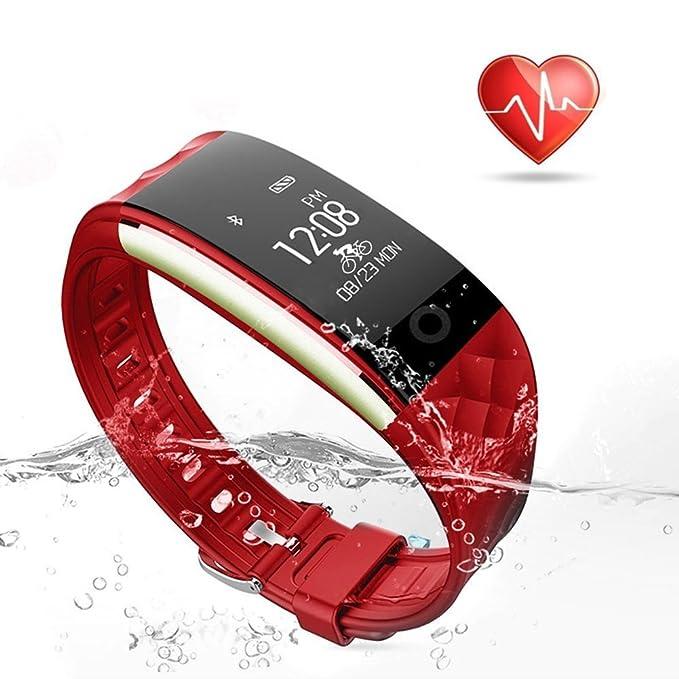 Fitness Tracker, Monitor de frecuencia cardiaca inalámbrico ...