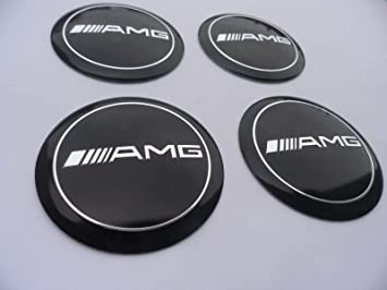 Autopartsml 4 X 56mm Alu Emblem Felgen Aufkleber Logo