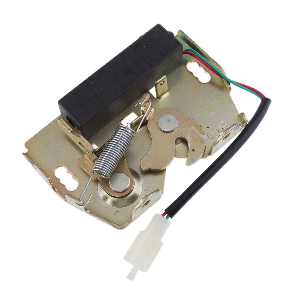 Baosity DC12V 1A Mini Small Electric Bolt Magnetic Solenoid Lock Cabinet Door Locks 120x77x23mm