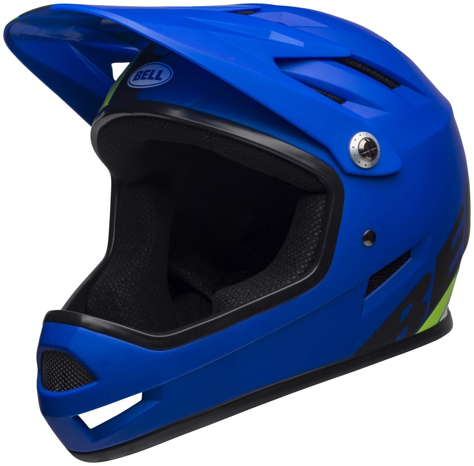 Bell Sanction Bike Helmet - Agility Matte Blue/Green X-Small
