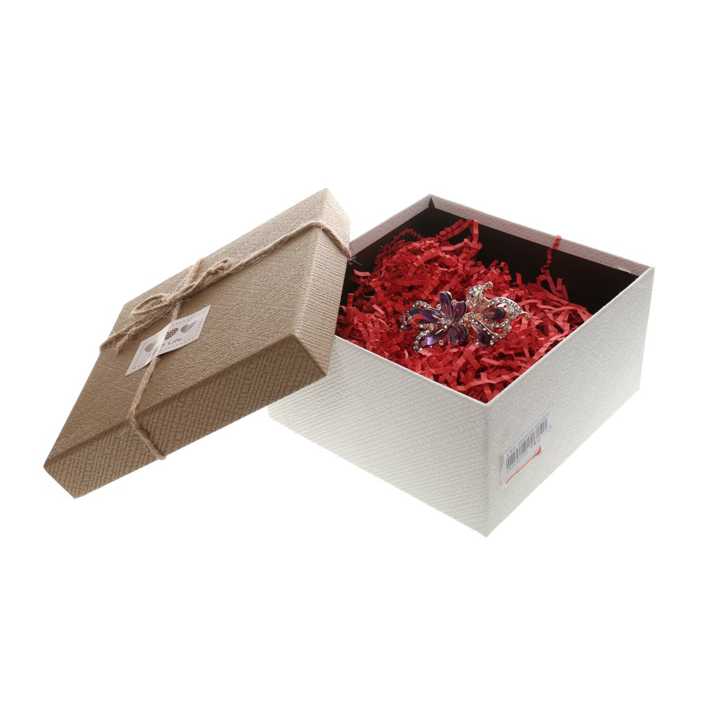 LOVIVER 50//60 Gramm Geschreddert Seidenpapier Verpackung F/üller Papier F/üllmaterial Deko Dunkelblau
