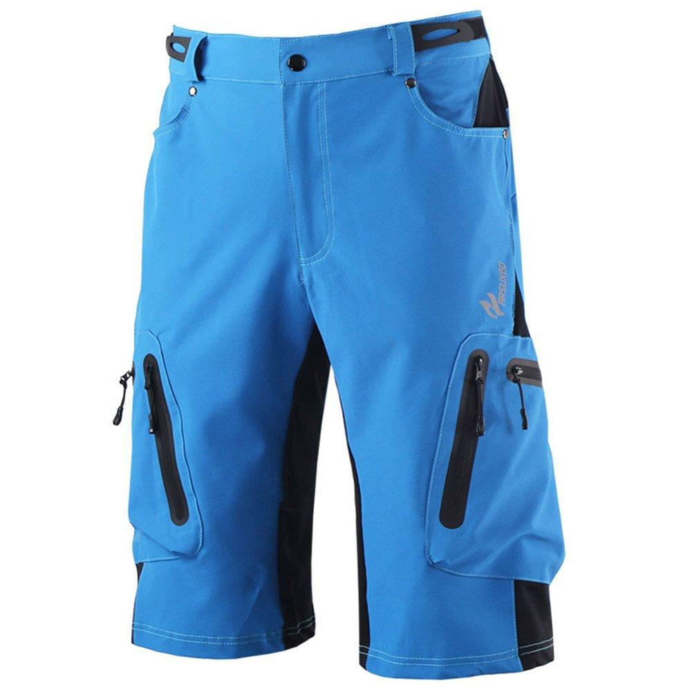 M.Baxter Herren Outdoor Sport Hose Multifunktion Herrenhose Atmungsaktiv Fahrrad Hose Radhose Shorts Bergsteigen Camping Wandern Radfahren Laufen MTB Hose