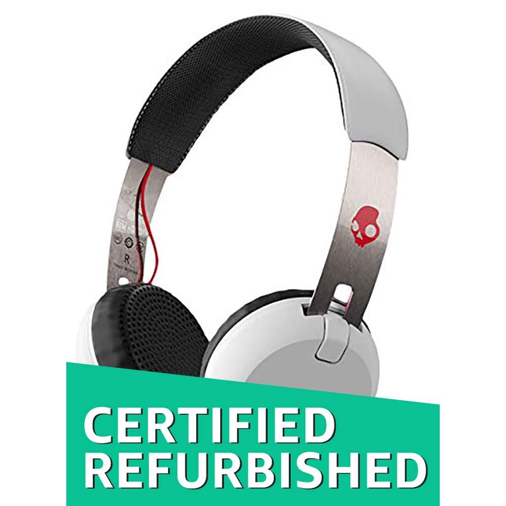 (Renewed) Skullcandy Grind On-Ear Bluetooth Headphones with