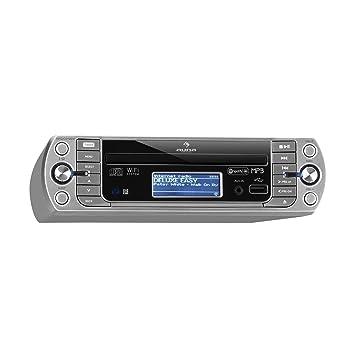 Auna Kr 500 Cd Kuchenradio Unterbau Radio Amazon De Elektronik