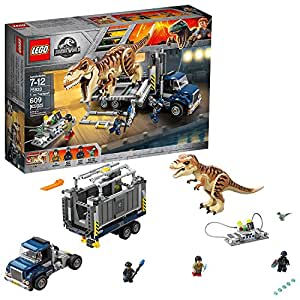 LEGO Jurassic World T. Rex Transport 759331 Building Kit Multi (Deluxe Pack - Accessories)