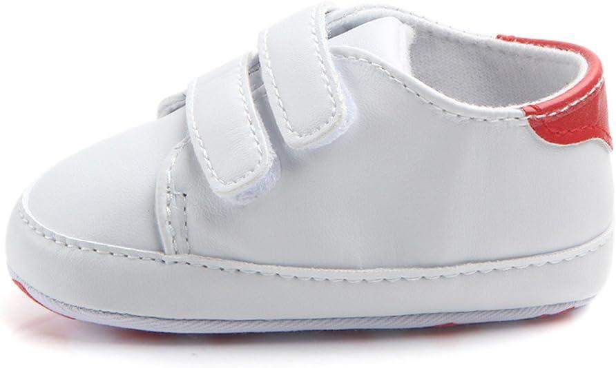 Chaussures premiers pas enfant 11 11 enfants 0-3 mois Pas cher Bottines Baskets pour Saint-Patrick Chaussures b/éb/é nourrisson gar/çon fille semelle souple berceau Sneaker GN