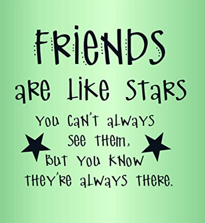 Kids Quotes | Friends Are God S Apology For Relatives Quotes Kids Girls Bed Room