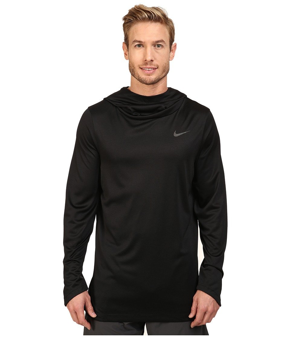 f00c3ff1ef8b Amazon.com   Nike Elite Basketball Hoodie Black Black Iridescent Mens  Sweatshirt   Everything Else
