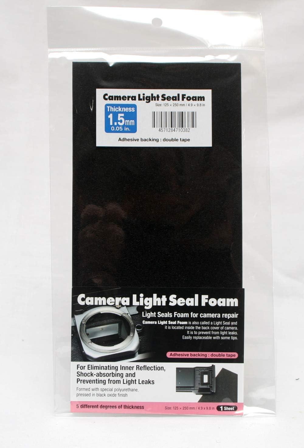 Camera Light Seal Form 250 X 125 X 1.5mm 9.84 X 4.92 X 0.05 in
