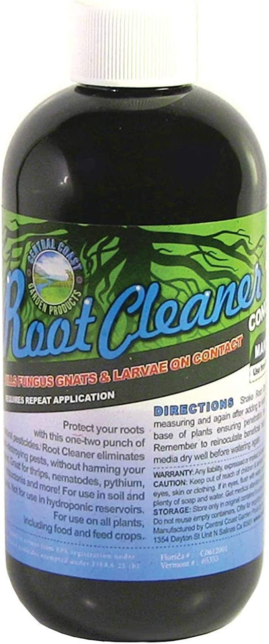 Root Cleaner - Soil Gnat, Fungus and Pathogen Killer (8 Ounce)