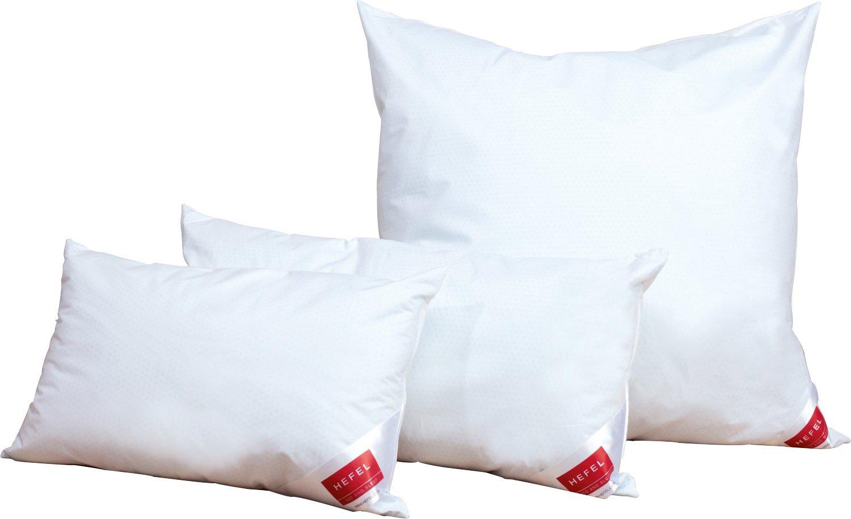 Hefel Kissen Cool Textilfaser weiss Größe 80x80 cm