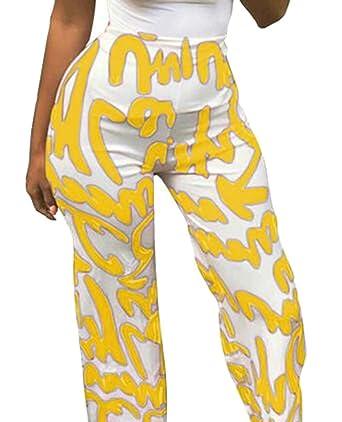 BingSai - Pantalones de chándal para Mujer (Cintura Alta, Pierna ...