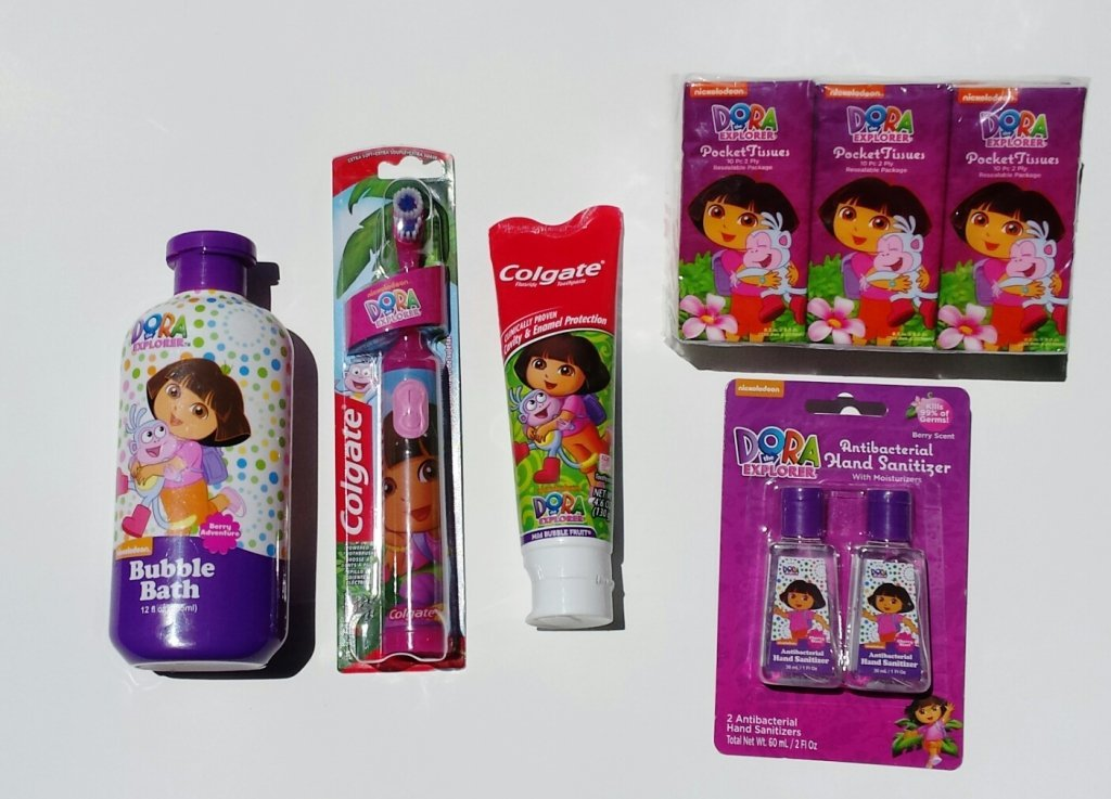 Dora The Explorer Personal Care Value Pack Nickelodeon