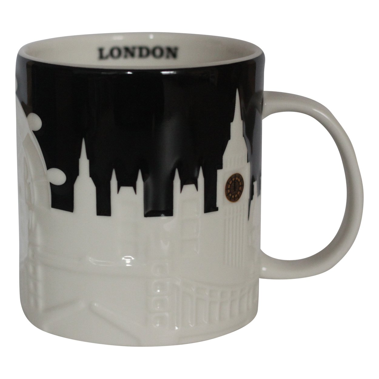 Starbucks SeriesBlack Collector City MugLondon Mug PkXTuiZO