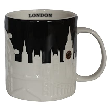Starbucks City Mug London Mug Collector Series Black
