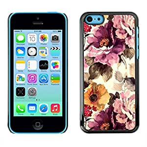 PC/Aluminum Funda Carcasa protectora para Apple Iphone 5C Vintage Vignette Sunshine / JUSTGO PHONE PROTECTOR