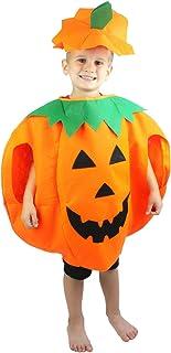 Petitebelle Orange Pumpkin Halloween Costume Set for Children 3-7year  sc 1 st  Amazon UK & VALINK Unisex Kids Boys Girls Halloween Fancy Dress Outfit Clothes ...