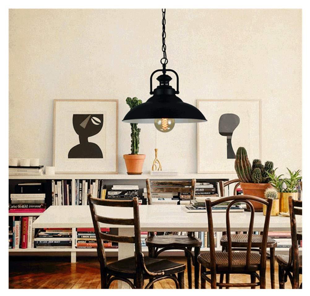 Hyvaluable Amerikanischen Industriellen Stil Kronleuchter Kreative Retro Schmiedeeisen Lampenschirm Bar Bar Einzelne Kopf Pot Pendelleuchten (Farbe   Inside Weiß)