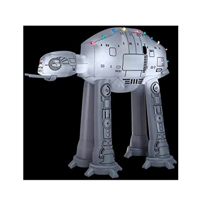 gemmy 37523 airblown at at wlight string star wars christmas inflatable