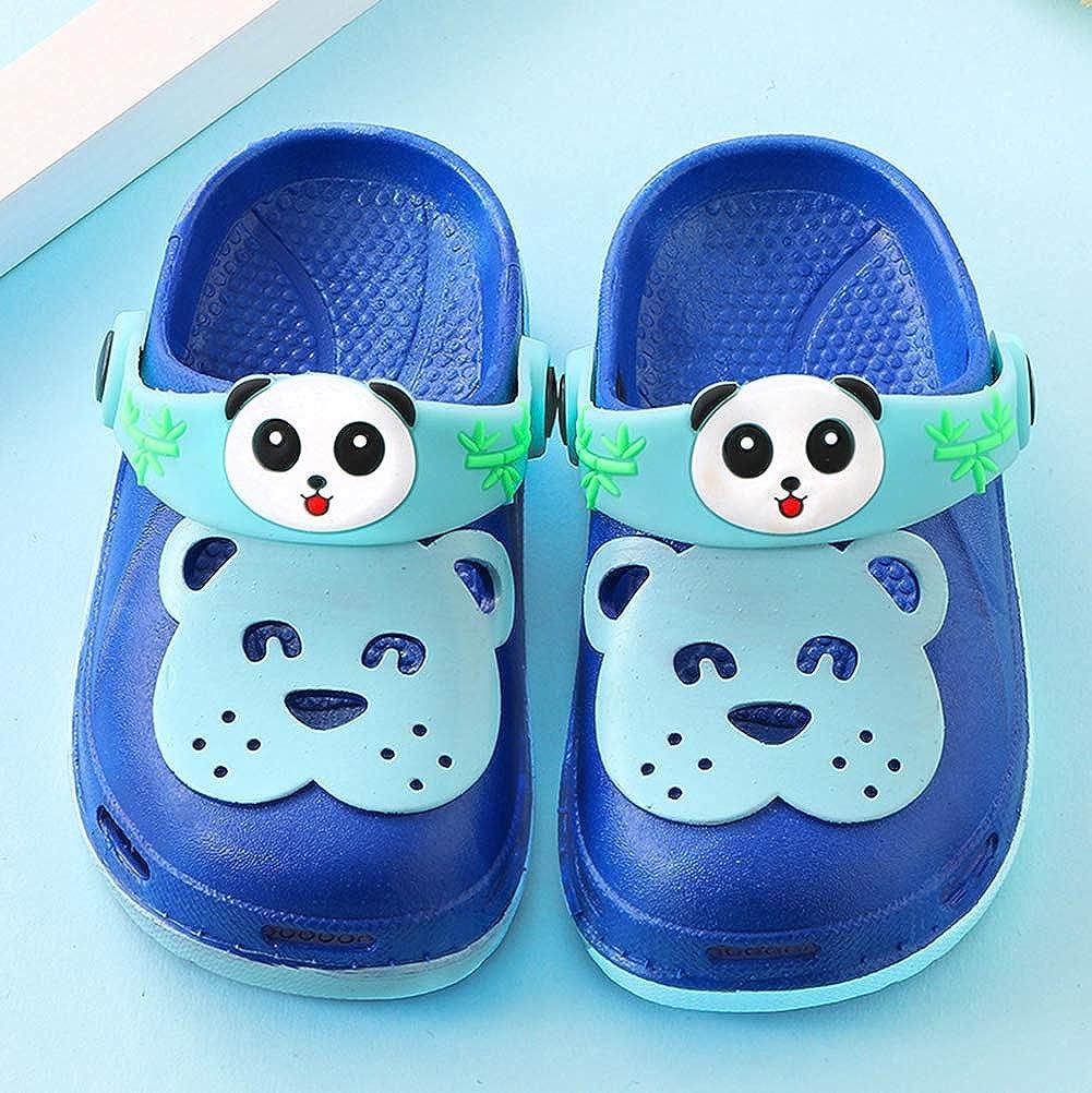 Bevalsa Mixte Enfant Sabots Mules Fille Gar/çon /Ét/é Tongs Sandales de Plage /à Enfiler Chaussures Antid/érapant Respirant Pantoufles Clog Chaussons Pantoufles de Jardin