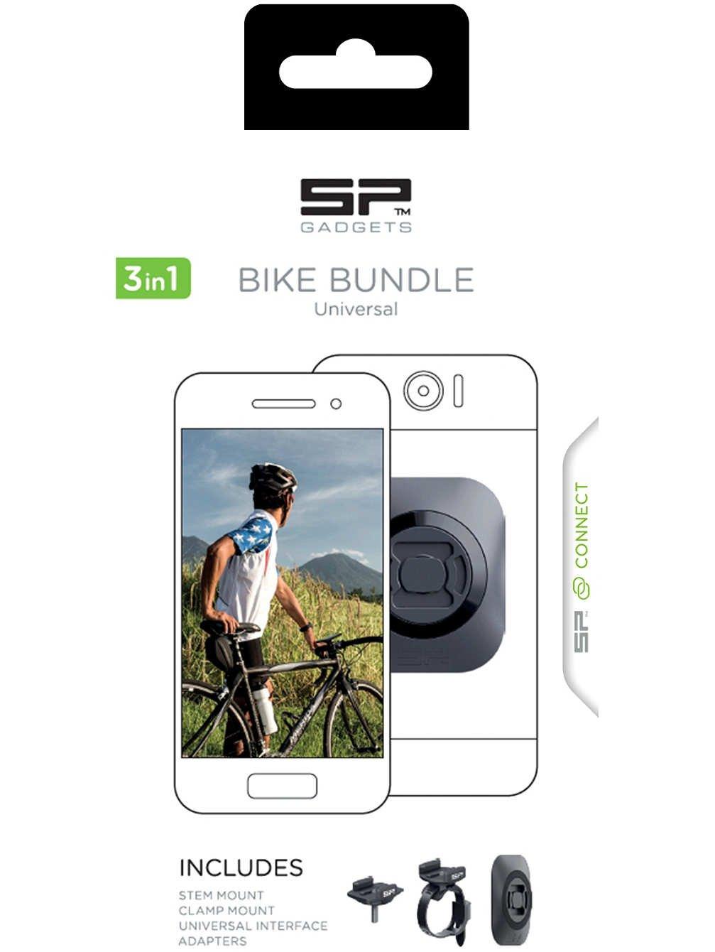 SP-Gadgets Helmkamera SP Connect Bike Bundle Universal SP Gadgets DGWX53406