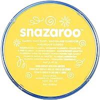 Snazaroo Face Paint 18ml Color Individual, Amarillo Brillante, M, 1