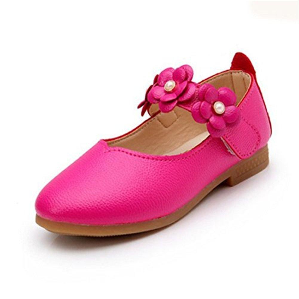 93b6a4cb00b46 Snaked cat Chaussures Plates Douces d'Enfant Fille Soulier en PU Cuir pour  Le Mariage Agrandir l'image