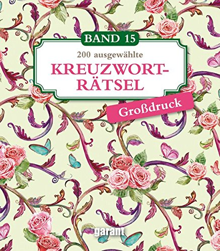 Kreuzworträtsel Deluxe Groß- Band 15