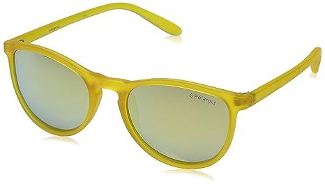 f1ea3c802f Polaroid PLD 8016/N LM PVI Gafas de Sol, Amarillo (Transparent Yellow/Grey  Goldmir Pz), 48 Unisex Niños: Amazon.es: Ropa y accesorios