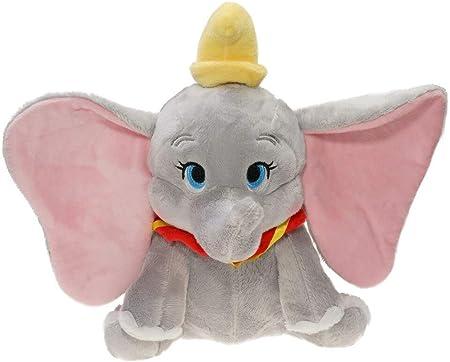 Zpong Lovely Grey Blue Elephant Doll Dumbo Movie Plush Soft Stuffed Plush Toys Regalos para Niños Juguete De Peluche Coleccionable 23Cm
