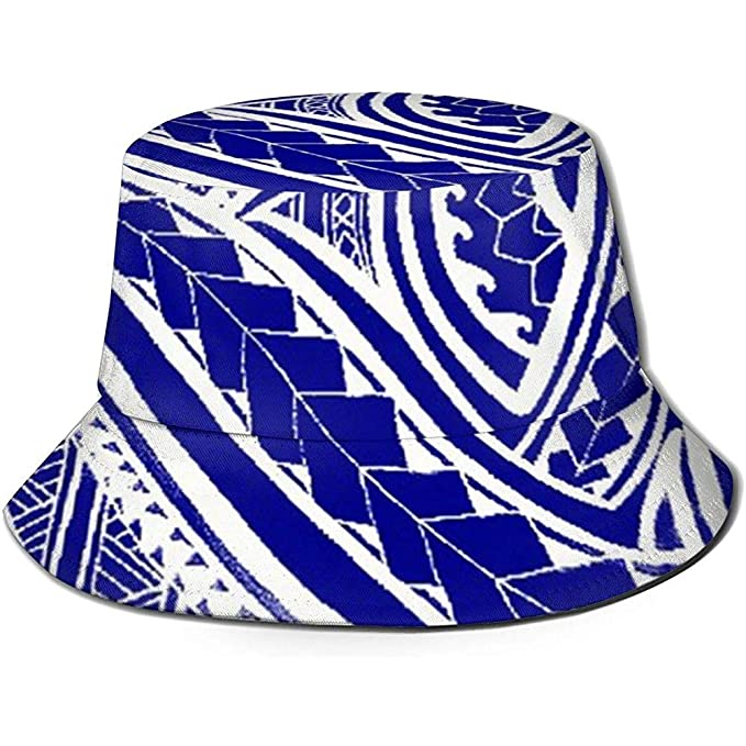 Baobei-shop Tela Polinesia Tatuaje Sombrero Unisex Cubo Sombrero ...