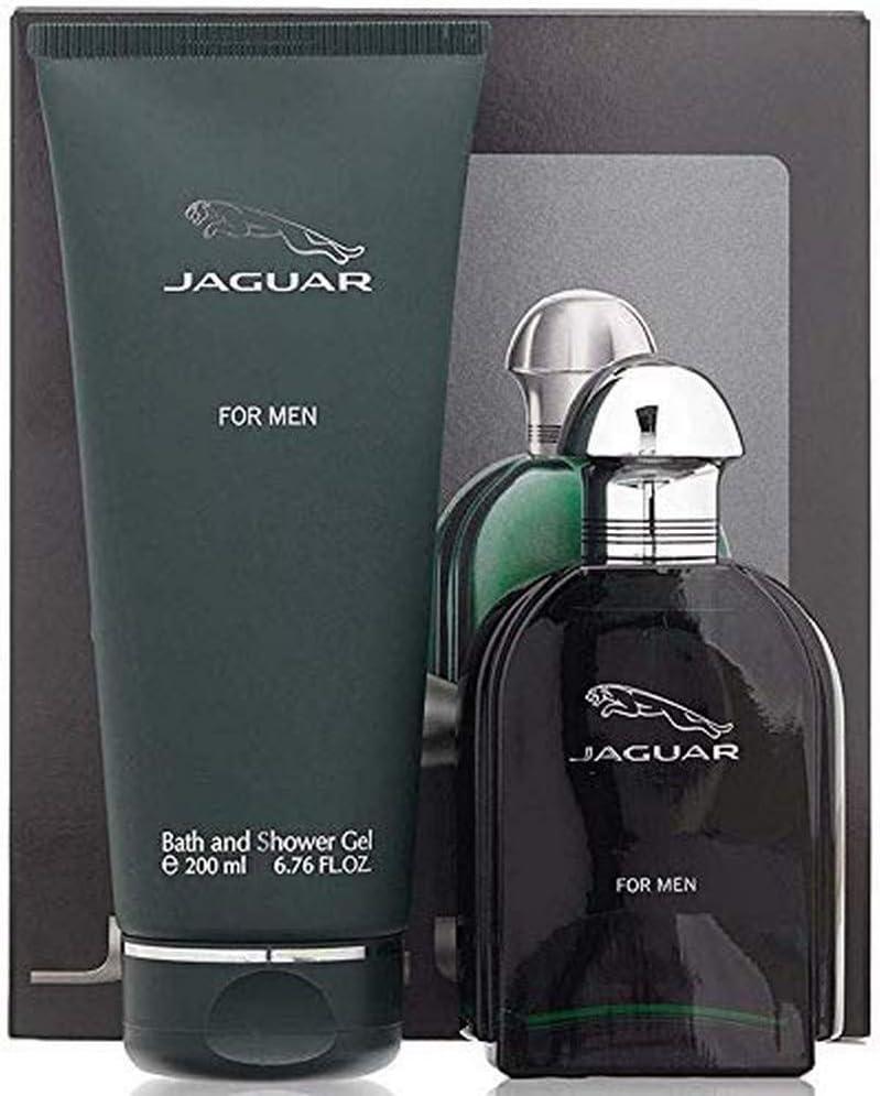 Perfume Para Hombre Jaguar For Men Set Fragancia Eau De Toliette y Shower Gel Edición Limitada Loción Oferta Especial Regalo