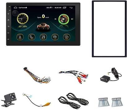 Toogoo Android 8 1 Universal Auto Multimedia Mp5 Player Gps Navigation 7 Zoll Hd Pressebildschirm 2 Din Integrierte Wifi Auto Radio Unterstützung Rückfahrkamera Spiegel Verbindung Auto