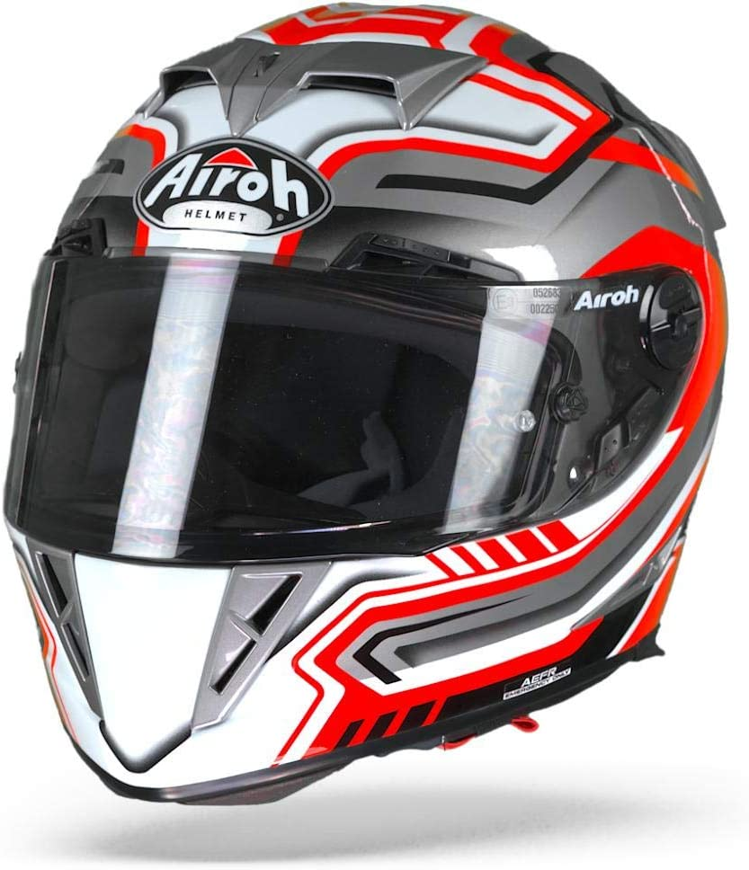 Airoh GP5R55 GP500 Rival Red Gloss M