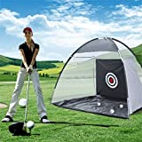 Civigrape 3M Golf Practice Hitting Driving Net, Training Cage Mat Aid Tool Golf Ball Carry Bag- Indoor Outdoor Golfing Use