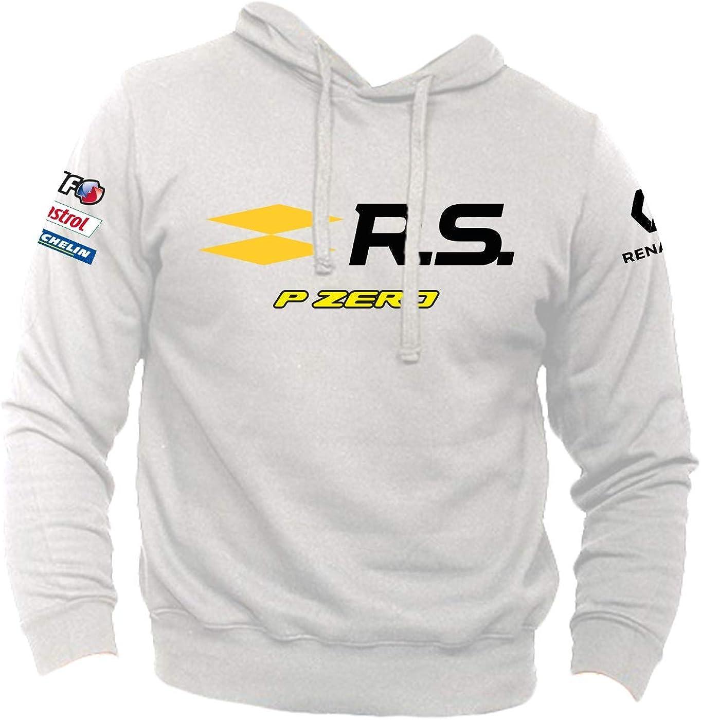 Elf castrol Michelin pirelli p Zero Rally Clio Bottoni Felpa Personalizzata Renault r.s