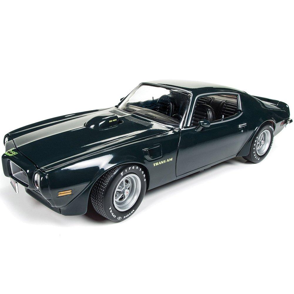 1 18 1973 Pontiac Firebird Trans Am Mcacn Autoworld Amm1109