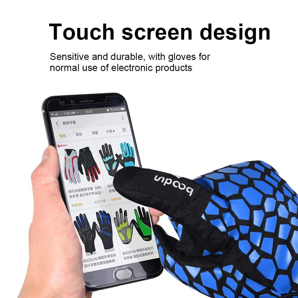 Amazon.com: Guantes de esquí, pantalla táctil, impermeables ...