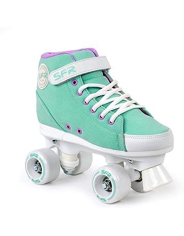 c6e5c4c1c17 SFR Vision Sneaker Quad Skates - Green (UK13J EU32 US13.5)