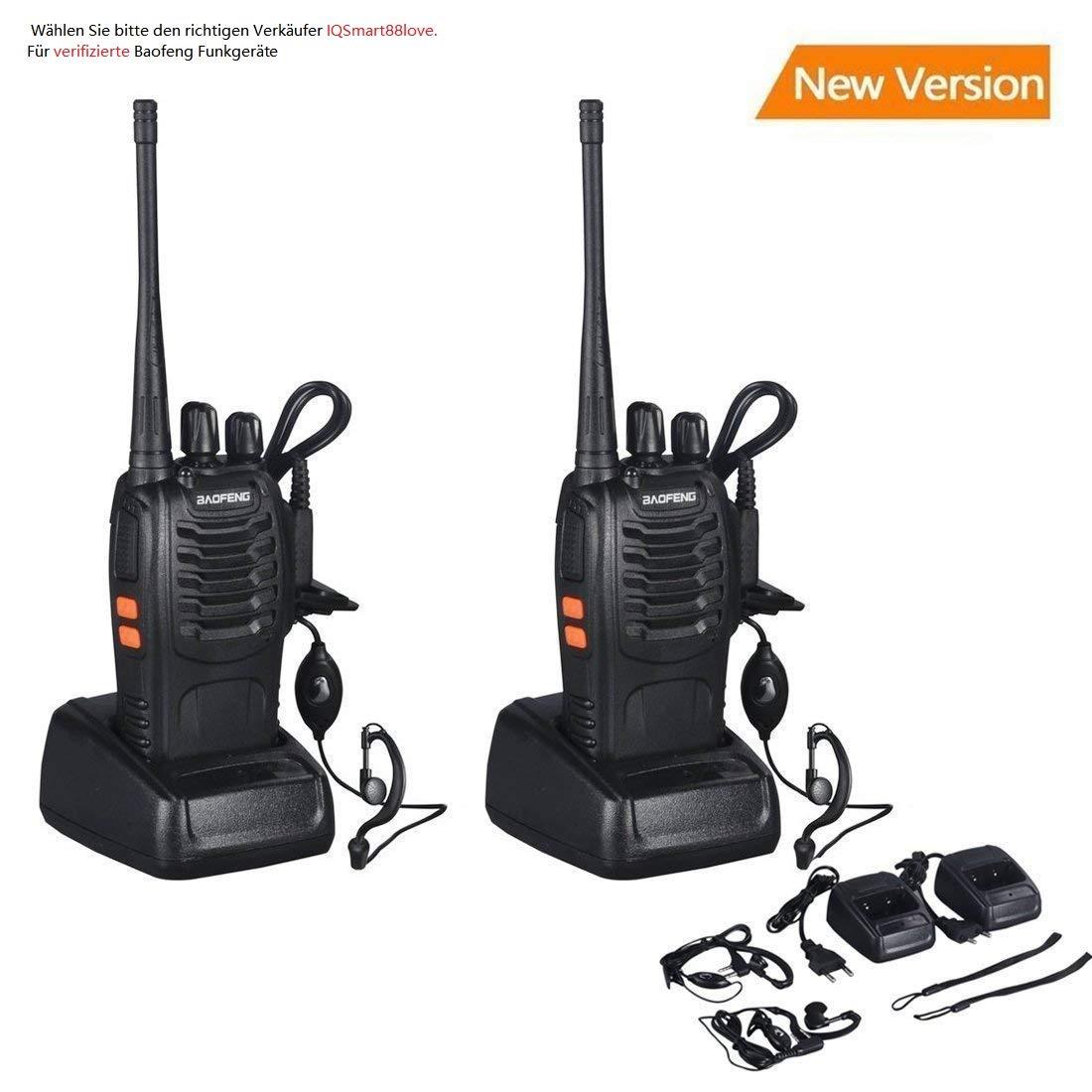 Baofeng BF-888S Talkie walkie UHF Radio bidirectionnelle portative