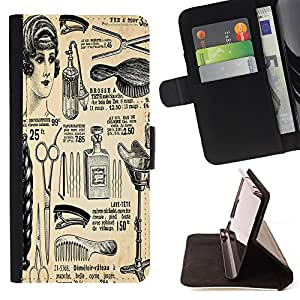 Jordan Colourful Shop - FOR Samsung Galaxy Note 4 IV - Classic beauty - Leather Case Absorci¨®n cubierta de la caja de alto impacto