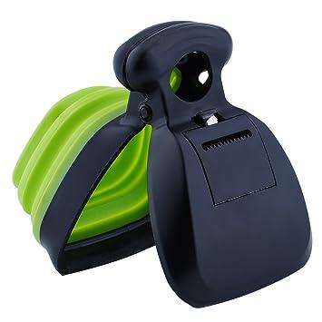Super Design Portable Pooper Scooper con dispensador de Bolsas de desechos: Amazon.es: Productos para mascotas