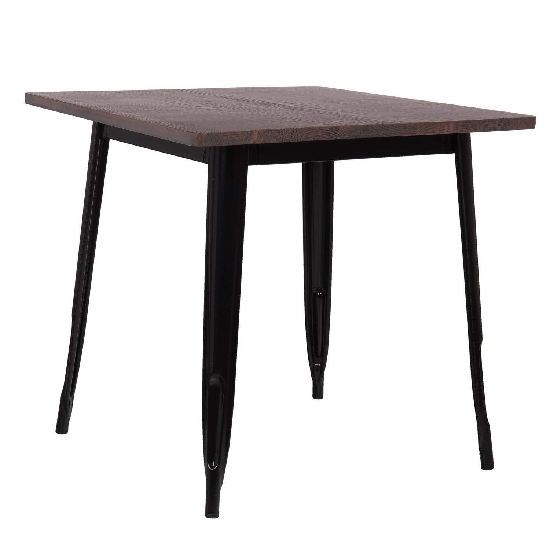 Blau Paradies Natur mehr Farben SKLUM Tisch LIX Holz 80x80
