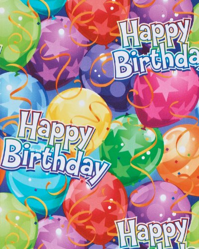 American Greetings Paper Roll Gift Wrap - Balloons