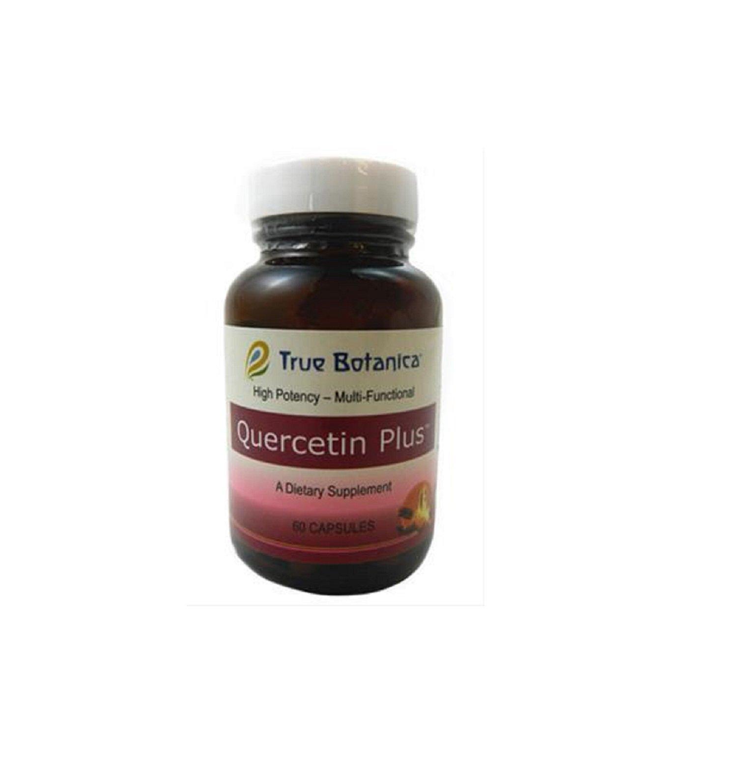 True Botanica Quercetin Plus - Multi-Functional Dietary Supplement 60 Caps