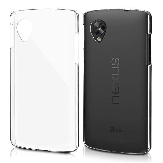102 opinioni per kwmobile Cover per LG Google Nexus 5- Custodia trasparente per cellulare- Back