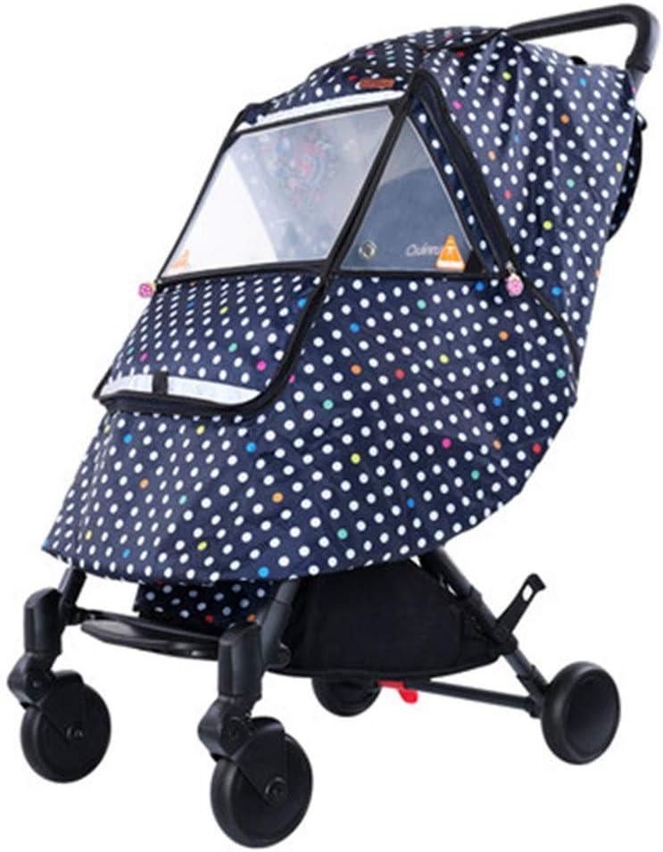 赤ちゃんの車のレインカバー ベビーカー全天候アーティファクト風防ユニバーサルベビーカーのレインコートの表紙暖かい冬の赤ちゃんアウト レインカバー (色 : B, Size : 01)
